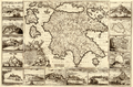 Peloponnesus, Presently the Kingdom of Morea, Clearly Divided into All Its Provinces, Both Contemporary and Ancient, and to which is Added the Islands of Cefalonia, Zante, Cerigo, and St. Maura WDL373.png