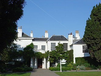 Bertrand Russell - Childhood home, Pembroke Lodge