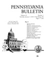 Pennsylvania Bulletin 3 January 2015 volume 45 number 1.pdf
