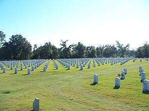 Barrancas National Cemetery - Image: Pensacola FL Barrancas Ntl Cem 01