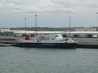 Pentland Ferries - Pentalina B at Dunkerque in 2008