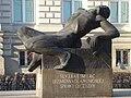 Peowiak monument Warsaw 01.jpg