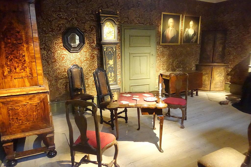 Period room, unidentified - Nordiska museet - Stockholm, Sweden - DSC09848.JPG
