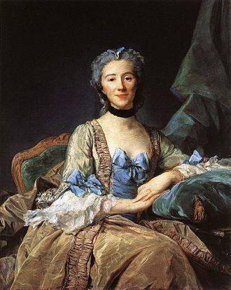 Jean-Baptiste Perronneau - Jean-Baptiste Perronneau, Madame de Sorquainville, 1749