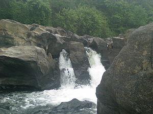 Perunthenaruvi Falls - Image: Perunthenaruvi 01