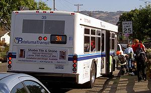 Petaluma Transit - Image: Petaluma Transit 3149