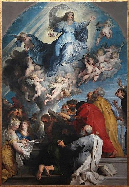 Ficheiro:Peter Paul Rubens - L'assomption de la vierge.jpg