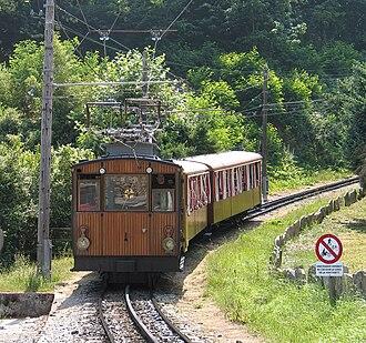 Petit train de la Rhune - The Petit train de la Rhune.