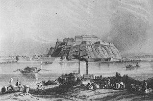 Petrovaradin - Petrovaradin fortress 1830.