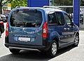 Peugeot Partner Tepee Outdoor (II) – Heckansicht, 17. Juli 2011, Ratingen.jpg
