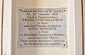 Pfarrkirche hl. Florian, Rettenegg - plaque at entry 02.jpg