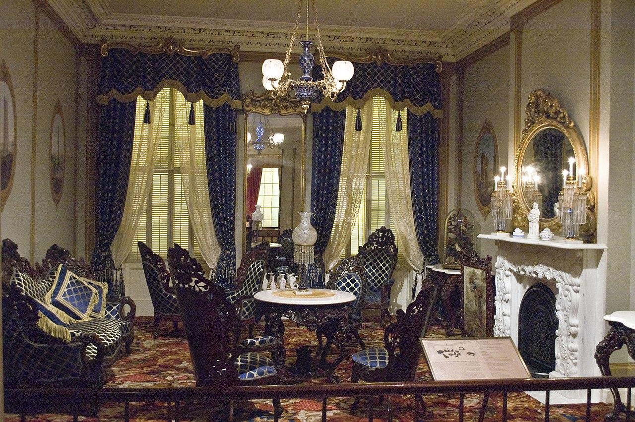 Rococo revival furniture - File Photograph Of A Rococo Revival Parlor In The Metropolitan Jpg
