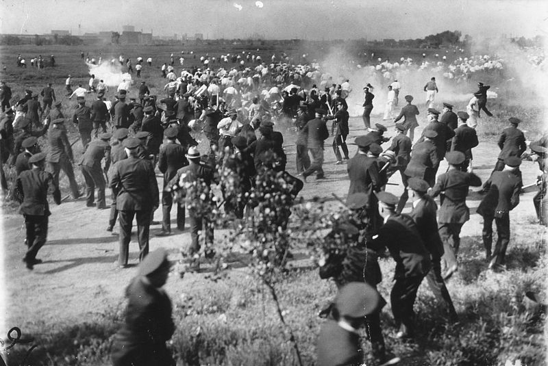"File:Photograph titled ""The Chicago Memorial Day Incident"" - NARA - 306197.jpg"
