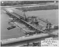 "Photograph with caption ""Upper Miss. River, Dam No. 8...General View."" - NARA - 282389.tif"
