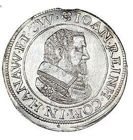 Johann Reinhard I., Hanau-Lichtenberg, Graf