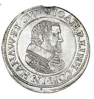 Johann Reinhard I, Count of Hanau-Lichtenberg Count of Hanau-Lichtenberg