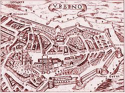 אורבינו ב-1689