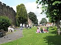 Picnic time at Ludlow Castle - geograph.org.uk - 1466857.jpg
