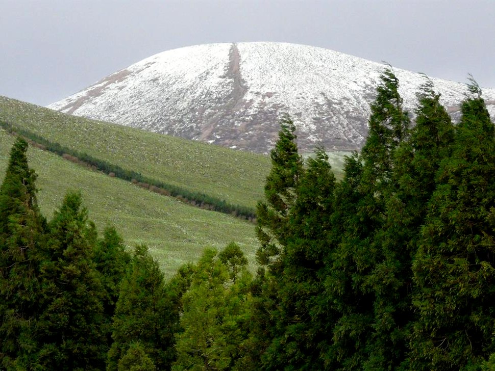 Pico da Sé, Inverno de 2008, ilha das Flores, Açores