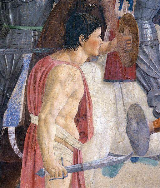 Piero della Francesca - 8. Battle between Heraclius and Chosroes (detail) - WGA17555
