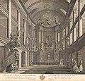 Pierre Nicolas Ransonnette - Sint-Rosaliakerk (Rotterdam) Rijkmuseum.jpg