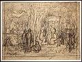 Pierre puvis de chavannes, studio compositivo per il boschetto sacro, 1883-84.jpg