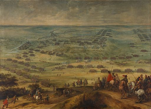 Pieter Snayers - The battle of Honnecourt 1642
