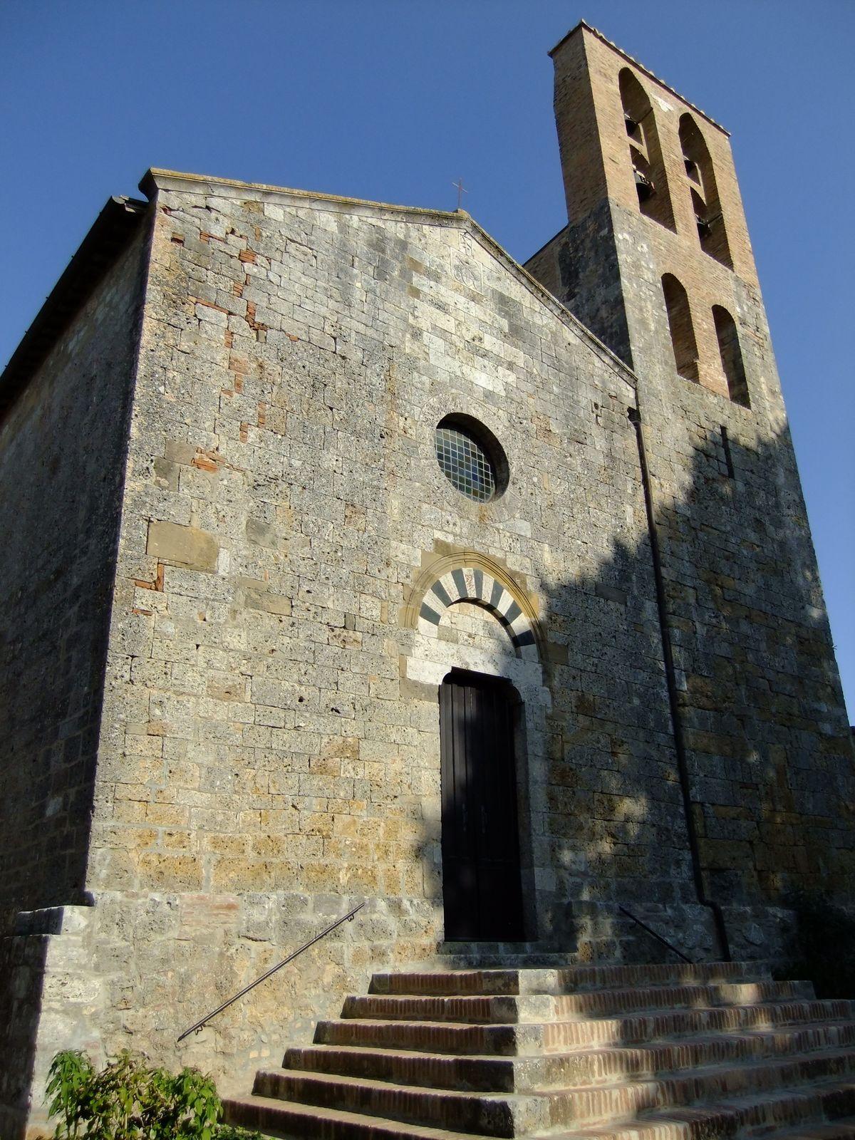 Risultati immagini per foto Pieve di San Giovanni Battista (Lucignano d'Arbia)