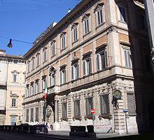 Palazzo Grazioli, residenza romana di Berlusconi