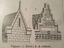 pignon architecture wikip dia. Black Bedroom Furniture Sets. Home Design Ideas