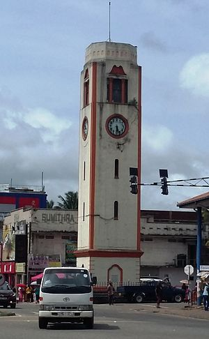 Piliyandala - Piliyandala Clock Tower