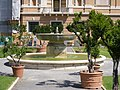 Pinacoteca Vaticana - fountain behind the building (south).jpg