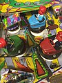 Pinball machine detail bumper cars.jpg