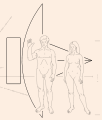 Pioneer plaque spacecraft.svg