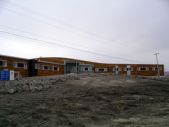 Clyde River, Nunavut - Image: Piqqusilirivvik Cultural Centre