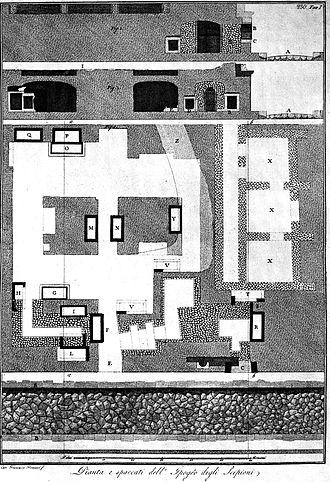 Tomb of the Scipios - Image: Piranesi Scipionengrab 2