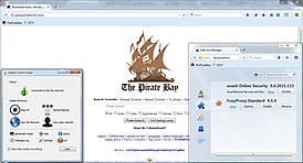 PirateBrowser main page addon tor.jpg