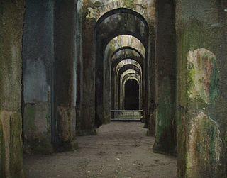 Piscina Mirabilis Ancient Roman cistern in Campania, Italy