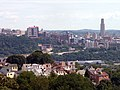 Pittsburgh 2019-08-10 Oakland from South Side Slopes 04.jpg