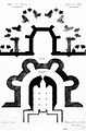 Plan du choeur et de la crypte de l'église disparue de Manzat.jpg