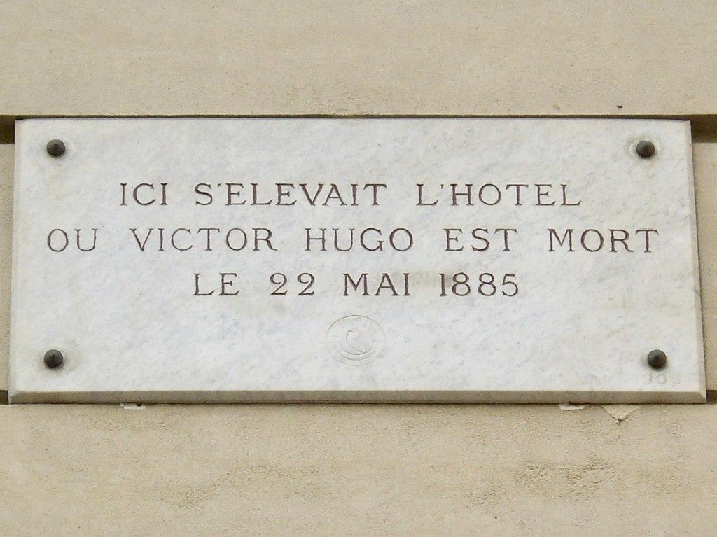 File plaque victor hugo 124 avenue victor hugo paris wikimedia com - Victor hugo paris 16 ...