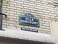 Plaque Villa Dancourt - Paris XVIII (FR75) - 2021-08-04 - 2.jpg