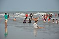 Playful People with Sea Waves - New Digha Beach - East Midnapore 2015-05-01 8768.JPG