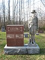 Pleasant View Baptist Cemetery doughboy monument.jpg