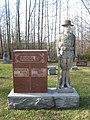 Pleasant View Baptist Cemetery doughboy monument.jpg