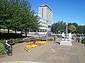 Plymouth , Ark Royal Anchor and Plymouth Civic Centre - geograph.org.uk - 1160756.jpg
