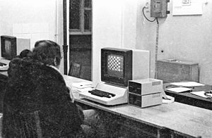 History of computer hardware in Soviet Bloc countries - A Bulgarian-made Pravetz computer