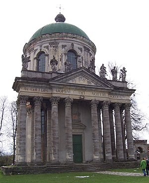 Pidhirtsi - The baroque Roman Catholic church of St. Joseph