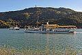 Poertschach Landspitz Passagierschiffe Thalia und Klagenfurt 27092014 883.jpg