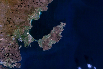 Point, Lewis - Satellite image of Point
